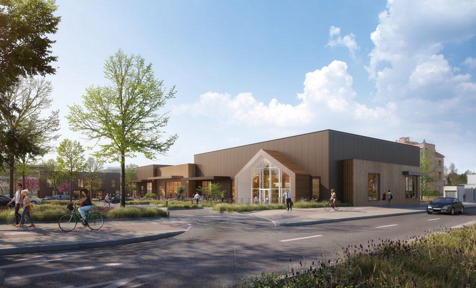 Image du concours d'architecture du futur centre commercial d'Amiens