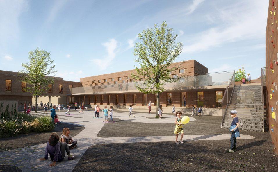 Image du concours d'architecture du futur groupe scolaire de Villefranche-sur-Saône