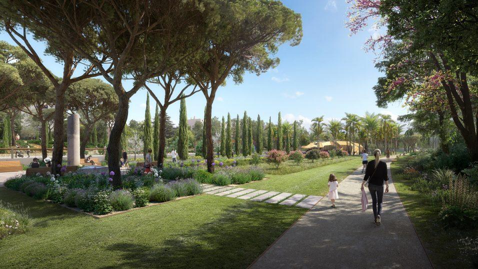 Parc Jacques Chirac - Pena Paysages - Nîmeses