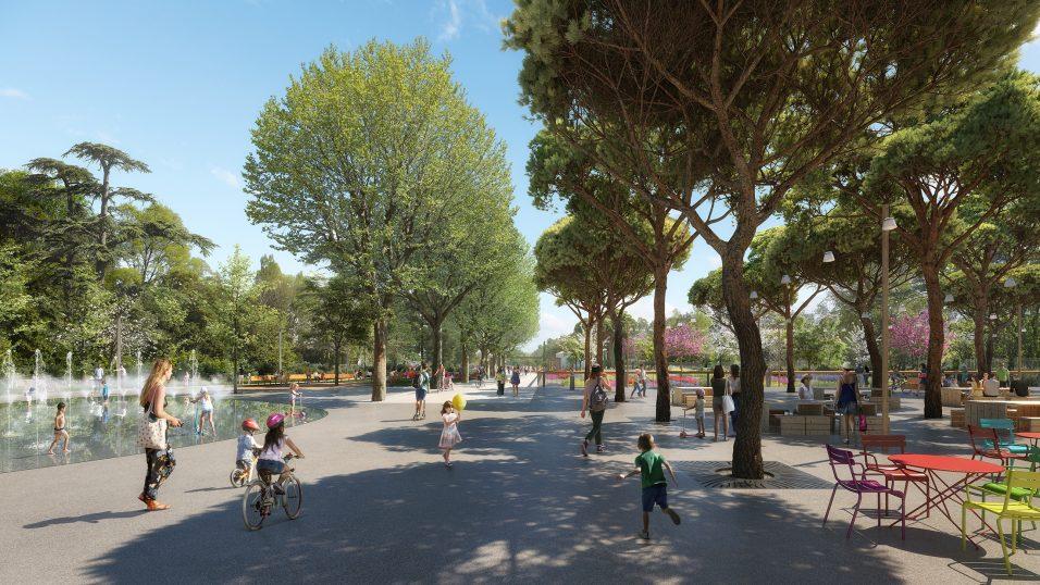 Parc Jacques Chirac - Pena Paysages - Nîmes